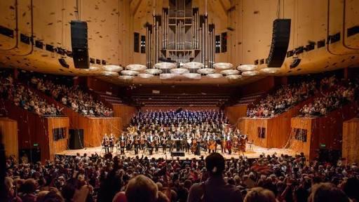 シドニーオペラハウスのコンサートホール
