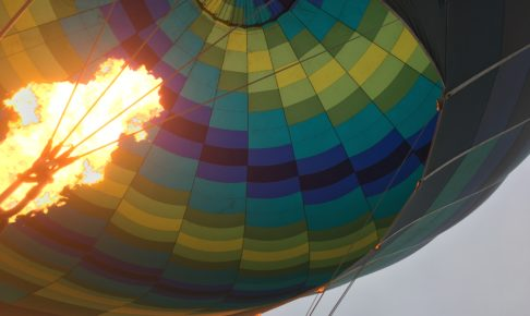 シドニー 熱気球