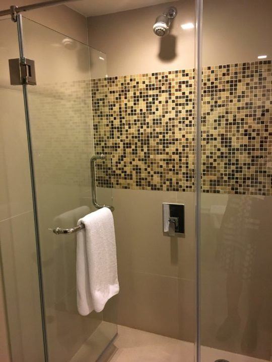 メルキュールバンコク スクンビット11のシャワールーム