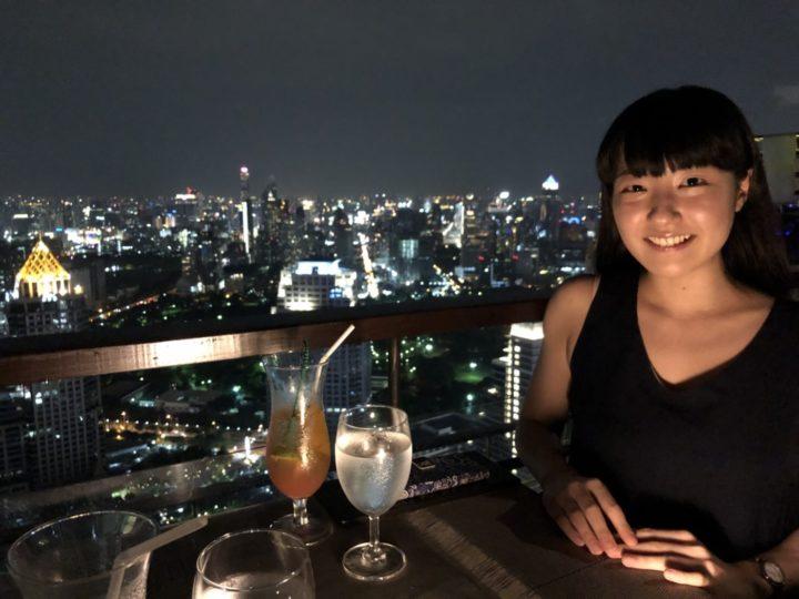 天気が綺麗で素敵な夜景を堪能したバンコク