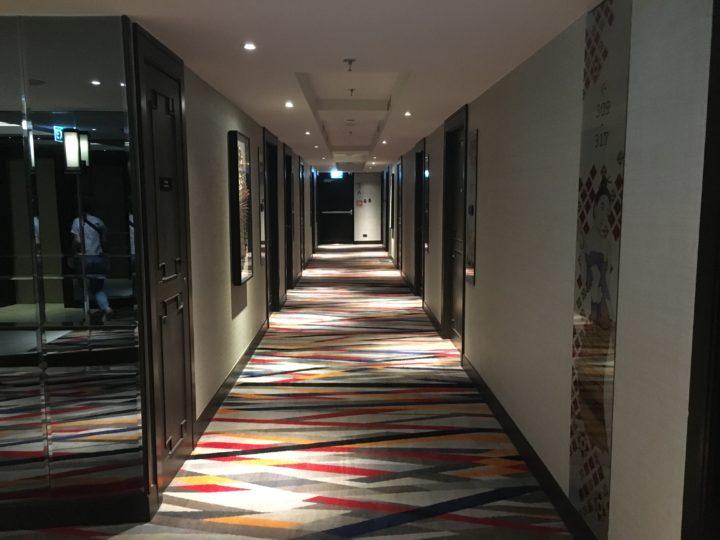 メルキュールバンコク スクンビット11の廊下