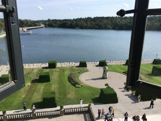 ドロットニングホルム宮殿から見た風景