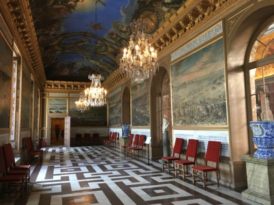ドロットニングホルム宮殿の内部
