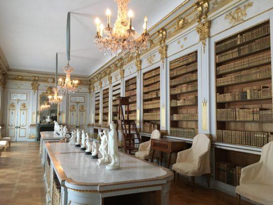 ドロットニングホルム宮殿の図書室