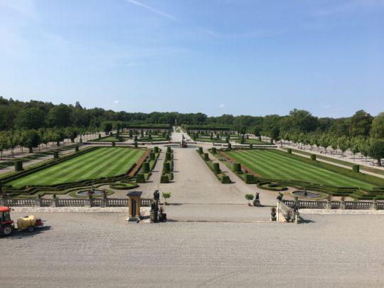 ドロットニングホルム宮殿の庭園