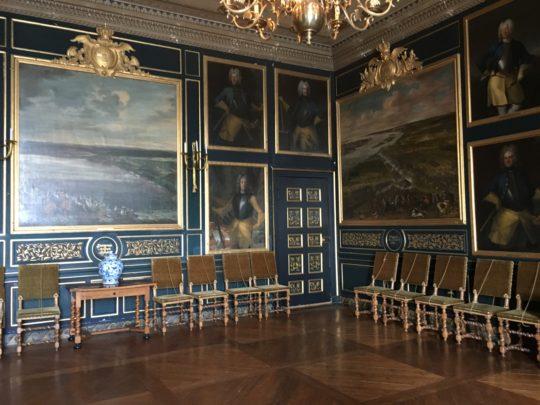 ドロットニングホルム宮殿の邸内