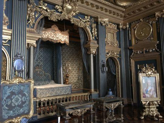 ドロットニングホルム宮殿の青の間