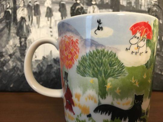タンペレのムーミン美術館限定のマグカップ