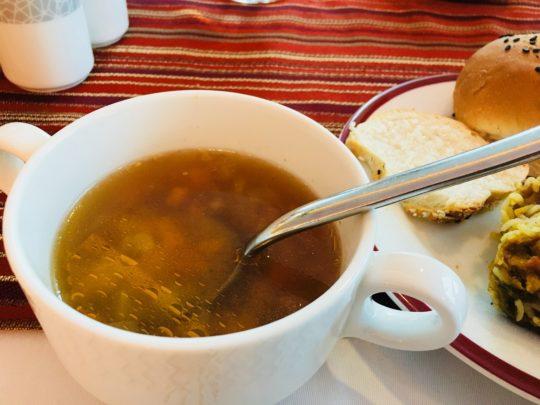 Retaj Al Rayyan スープ