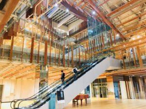 富山ガラス美術館 エントランス