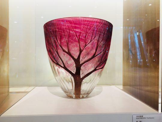 富山ガラス美術館 ガラス展示