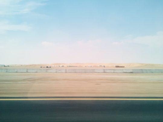 ドーハシティツアー 砂漠
