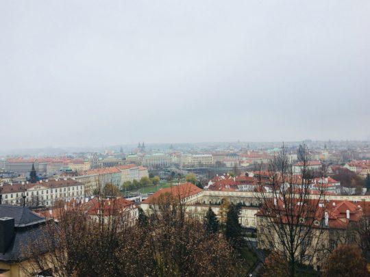 プラハ城 景色