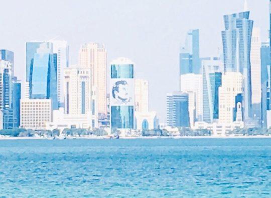 ドーハ シティツアー カタール国王