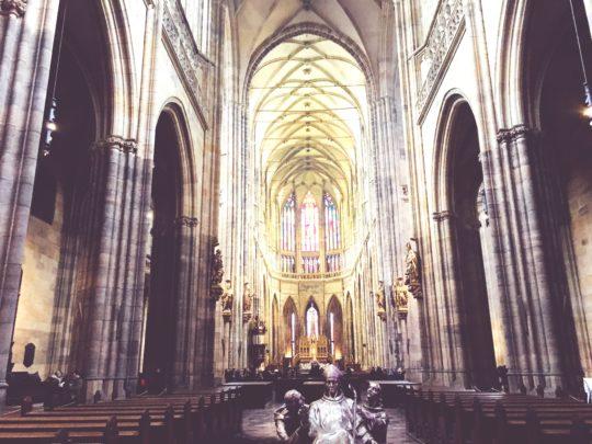 プラハ城 ミシャ ステンドグラス