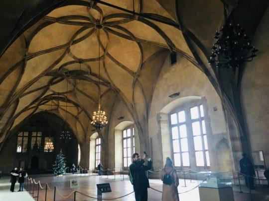 プラハ城 旧王宮 内部