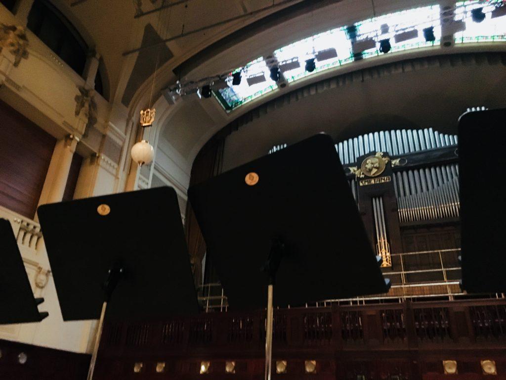 プラハ 市民会館 ステージ