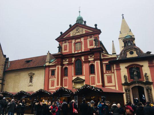 プラハ城 聖イジー教会