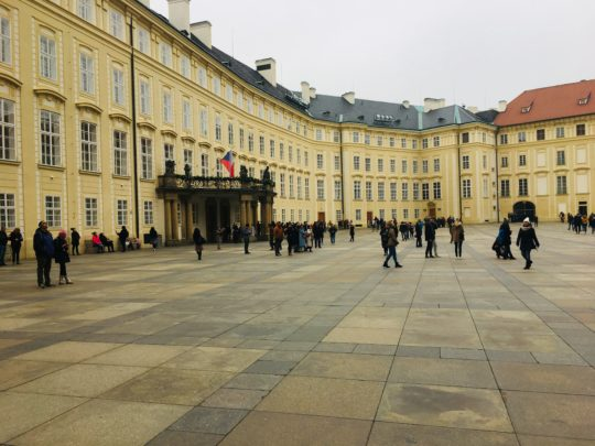 プラハ城 旧王宮