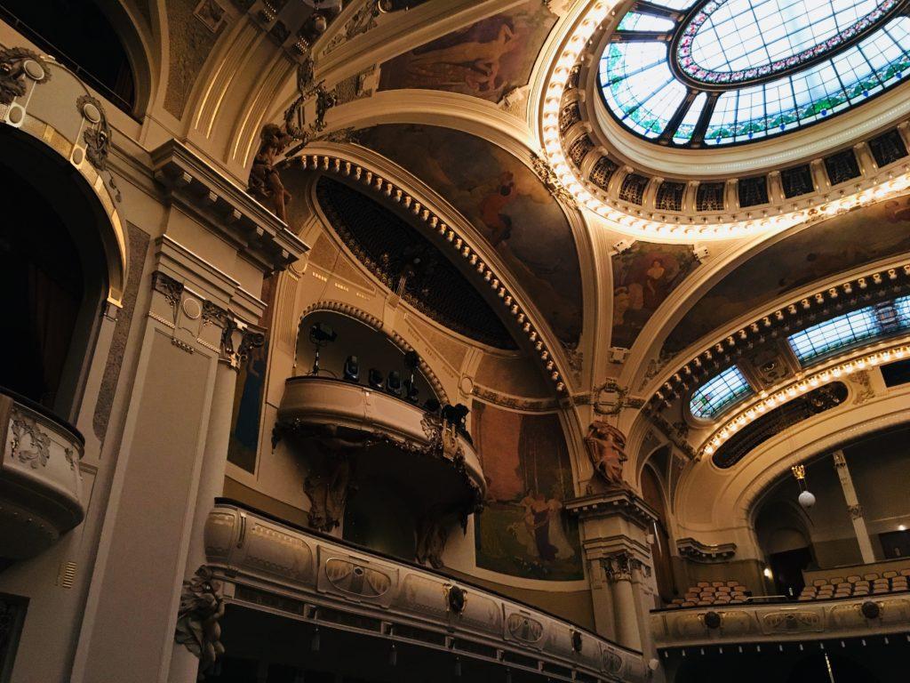 プラハ 市民会館 コンサート