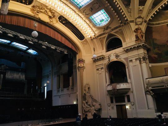 プラハ 市民会館 スメタナホール