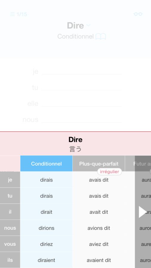 フランス語 勉強 不規則動詞
