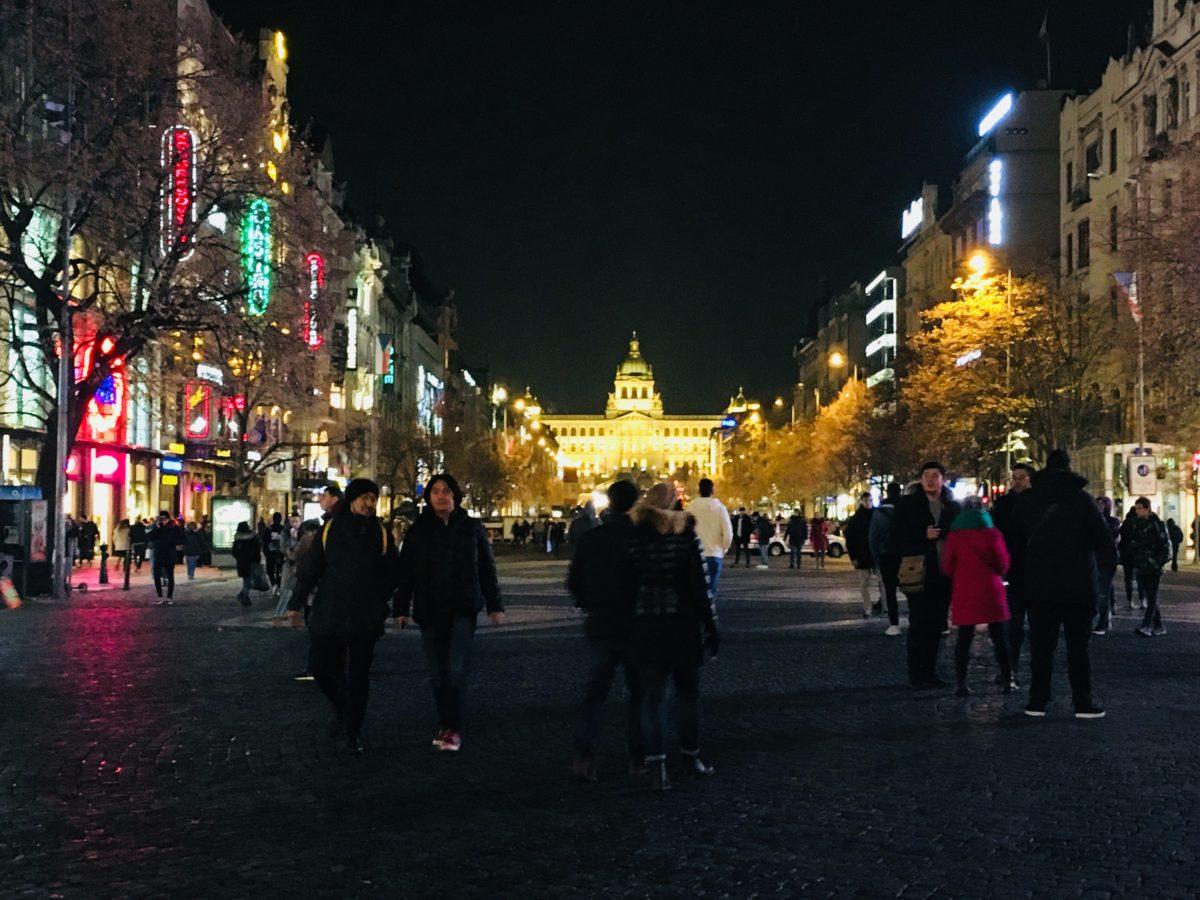 プラハ新市街エリア