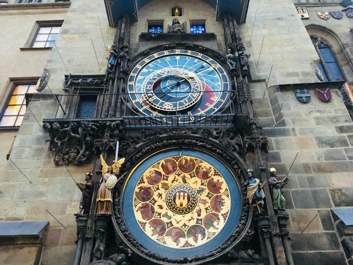 プラハ旧市街広場の天文時計