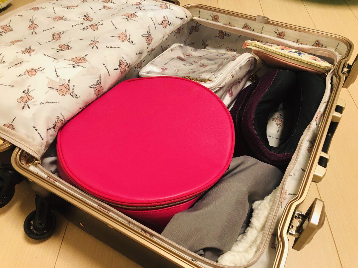スーツケース 容量