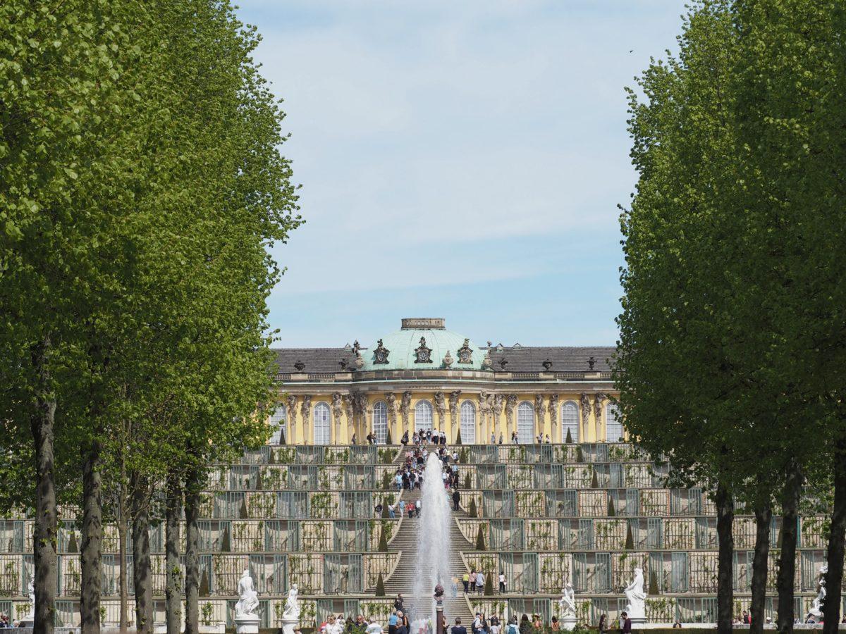 ポツダム サンスーシー宮殿