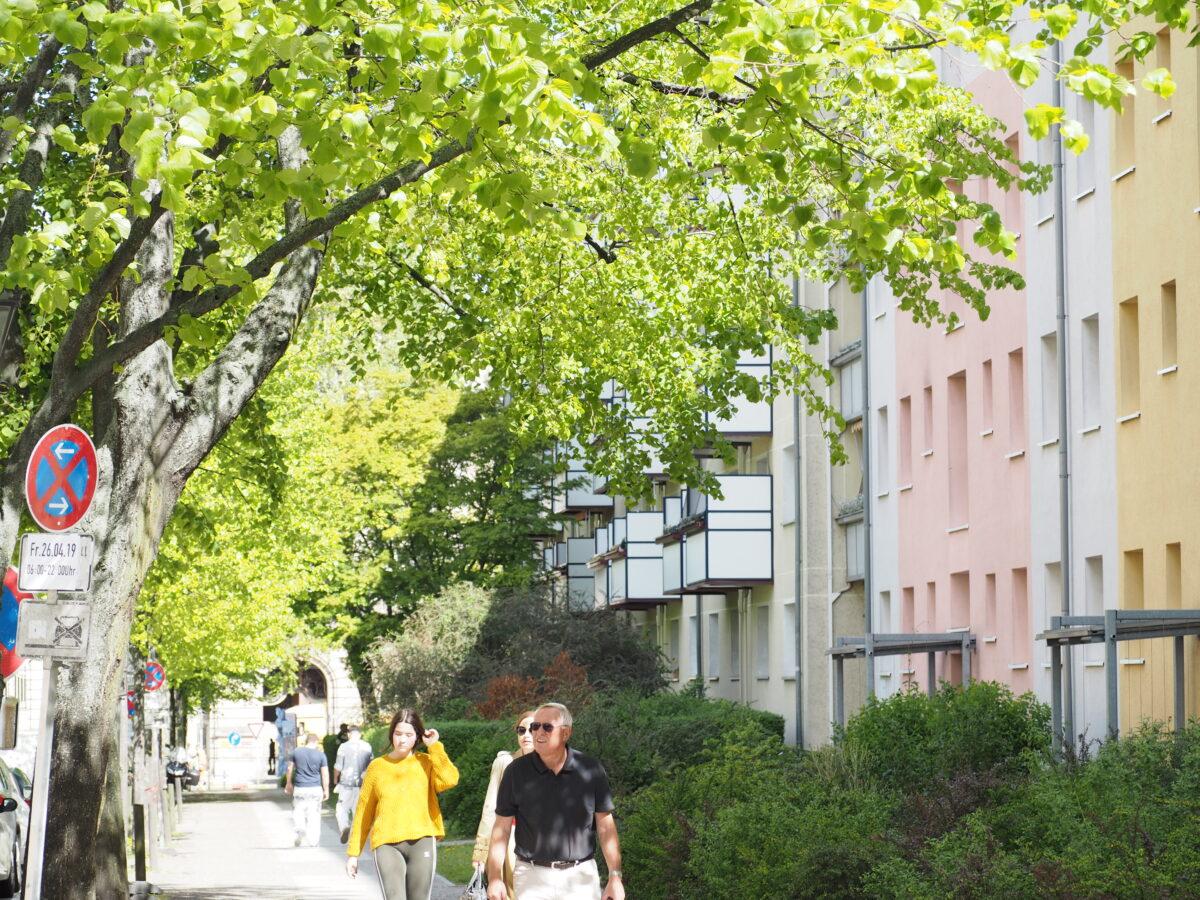 ドイツポツダムの街並み