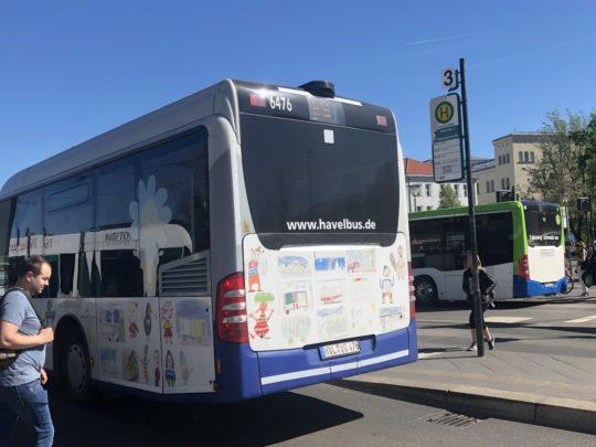 ポツダム 市内バス
