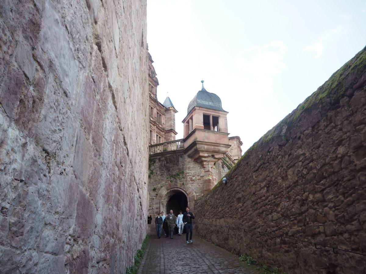 ハイデルベルク城 行き方
