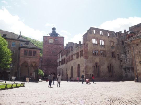 ドイツ ハイデルベルク 古城
