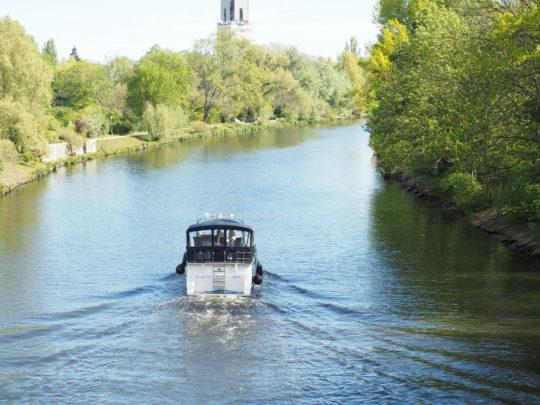 ポツダム 川