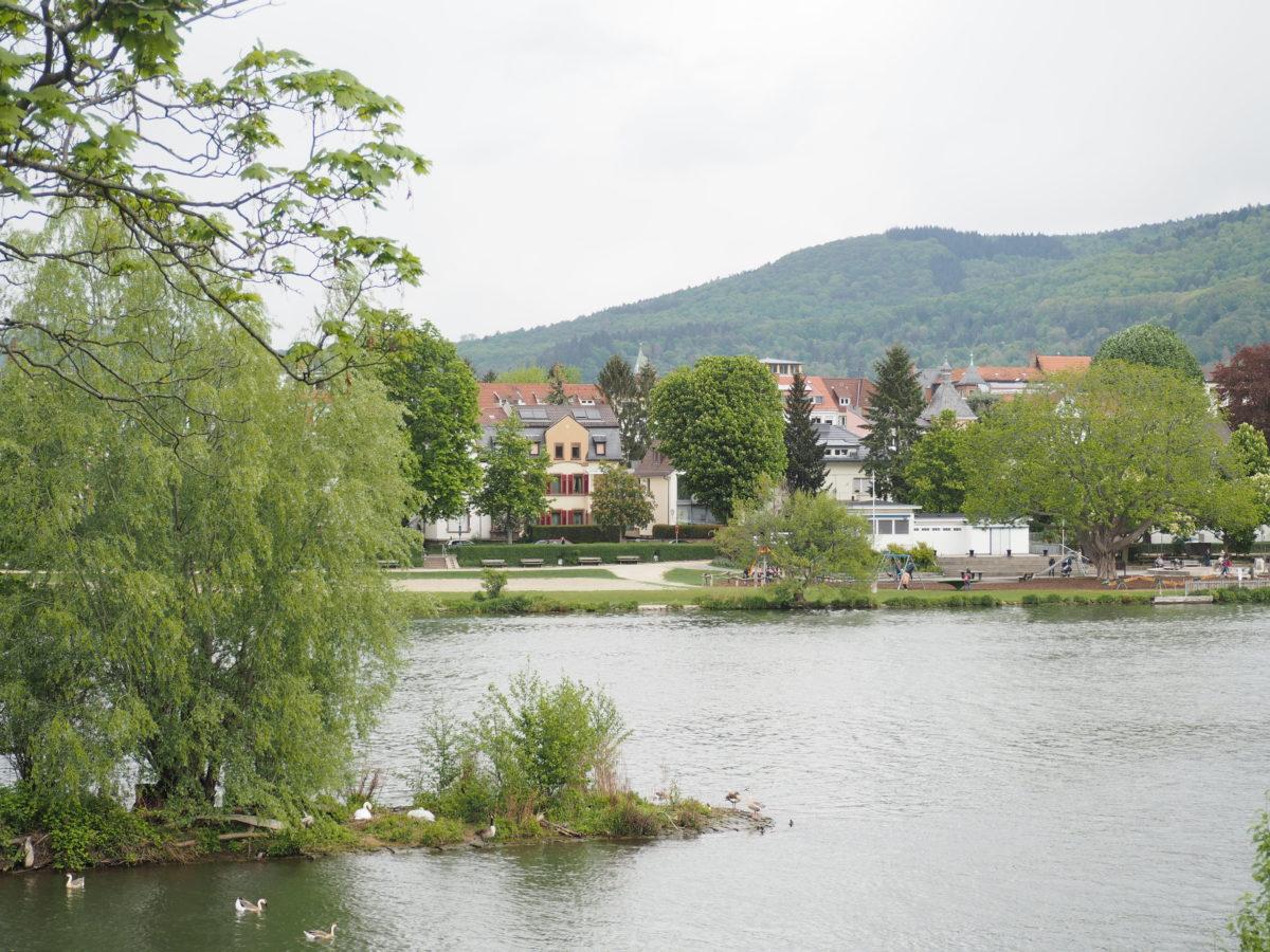 ハイデルベルク ネッカー川