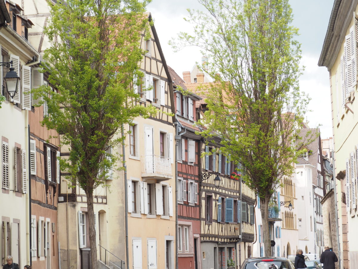 フランスコルマールの街並み
