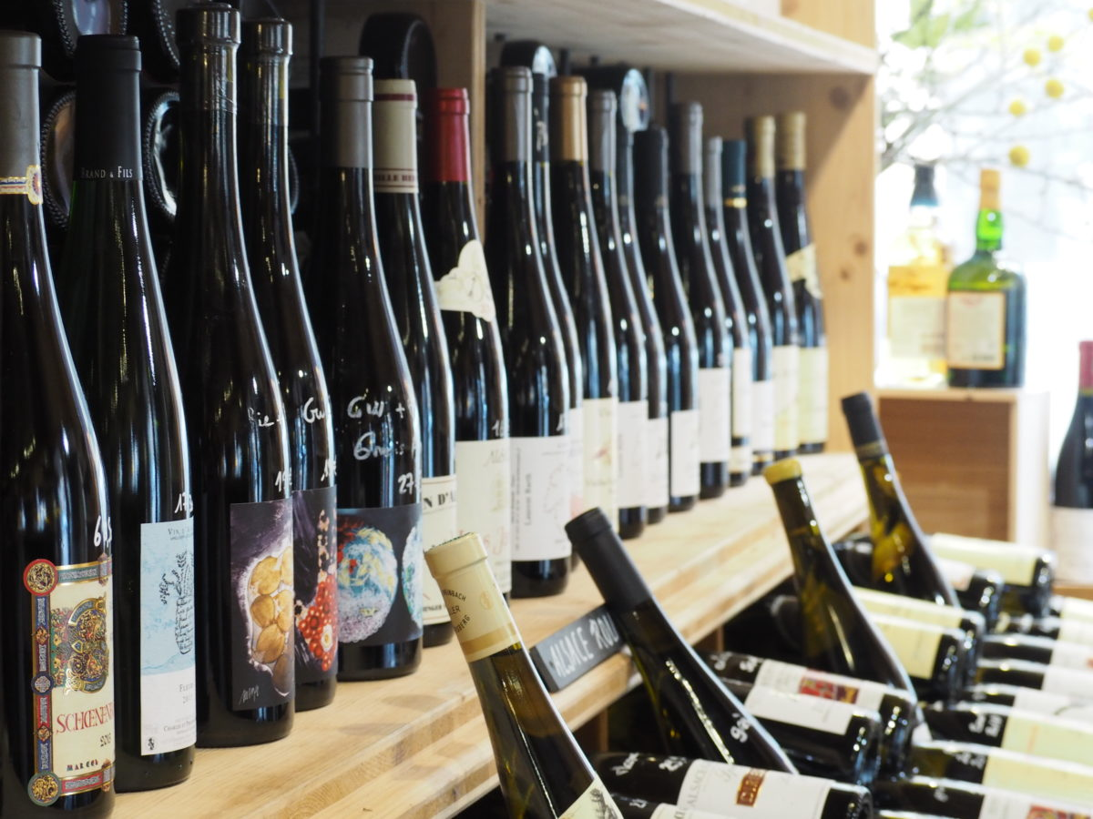 コルマールのアルザスワイン