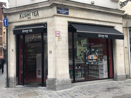 KUSMI TEA ベルギーお土産