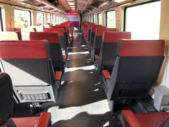 オランダの列車 ユーレイルパスで周遊