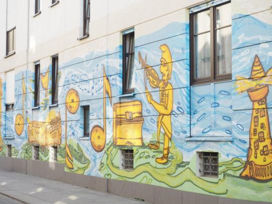 ドレスデン新市街の穴場
