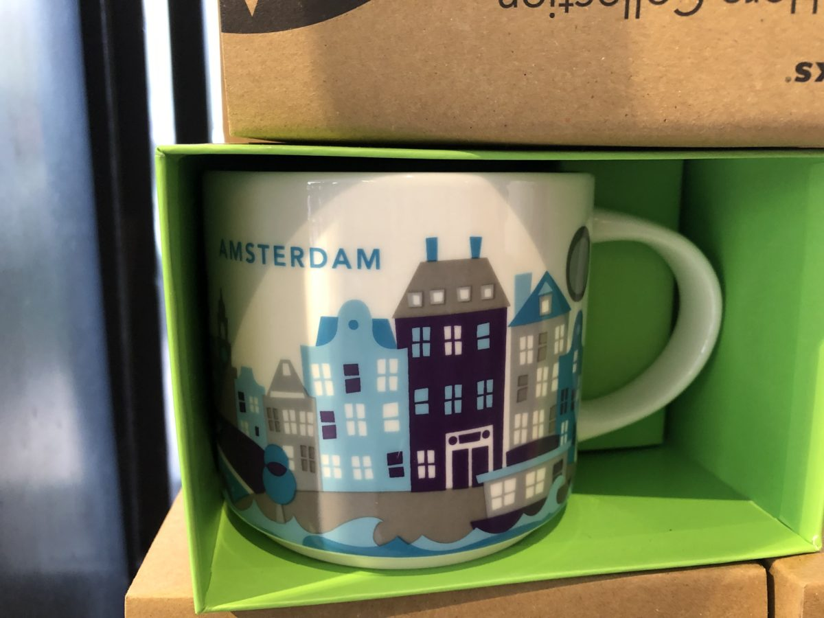 アムステルダムのスタバマグカップ