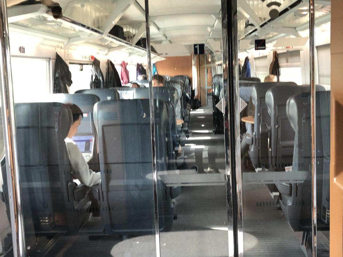 ドイツ鉄道(DB)の一等車