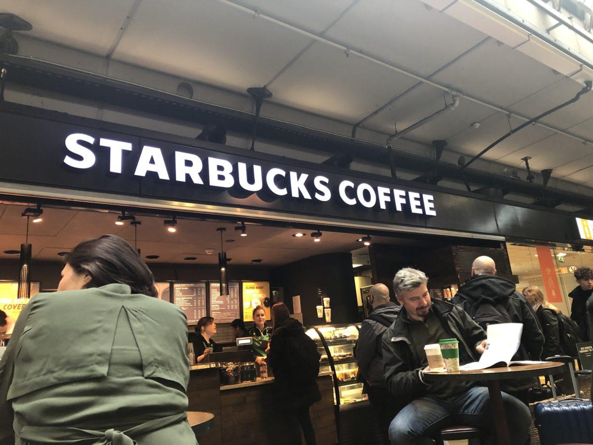 スキポール国際空港スタバ店舗