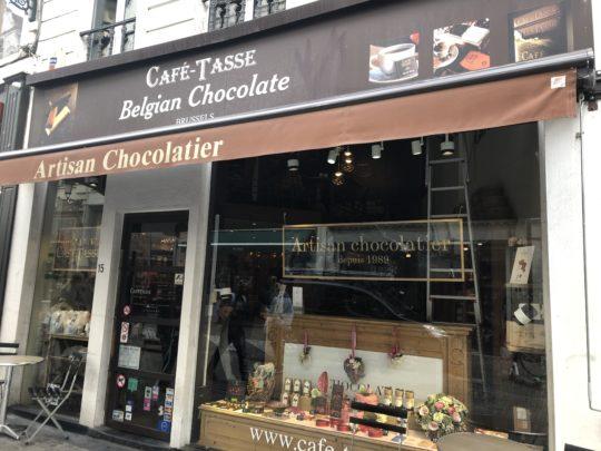 CAFE TASSE ベルギーチョコお土産