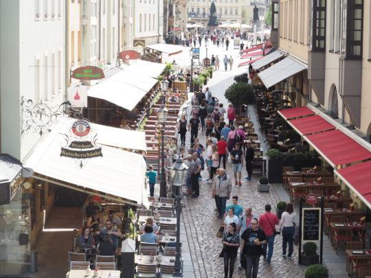 ドレスデン旧市街観光