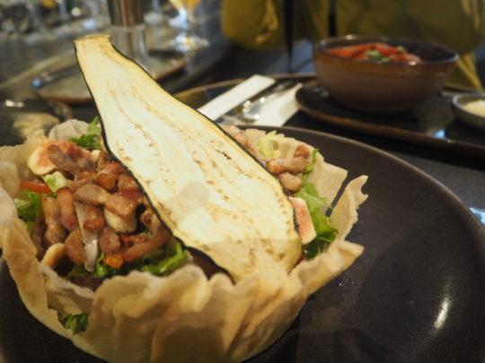 """ブリュッセルでおすすめレストラン""""FLOYD'S""""のサラダ"""