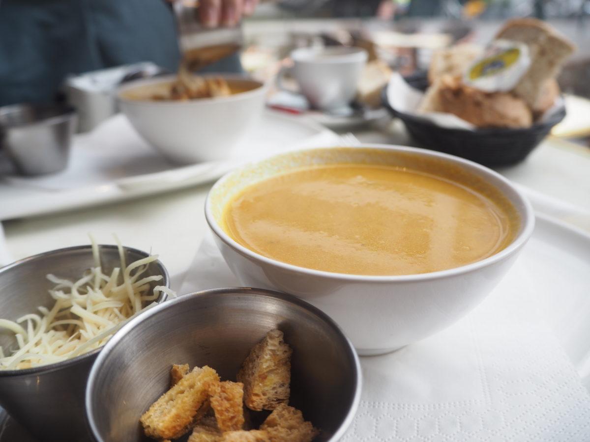 """ブリュッセルでおすすめカフェ""""ARCADI CAFE""""のモーニング"""
