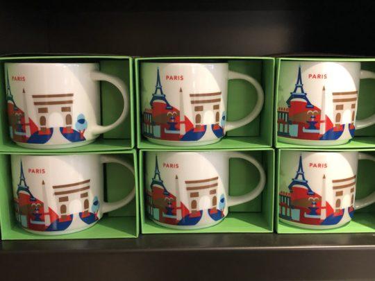 パリ スタバ マグカップ