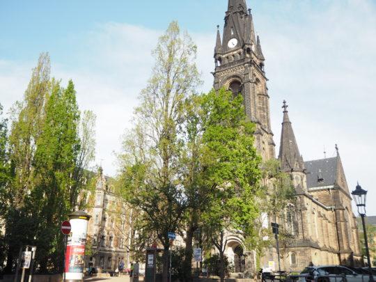 ドレスデン新市街の観光